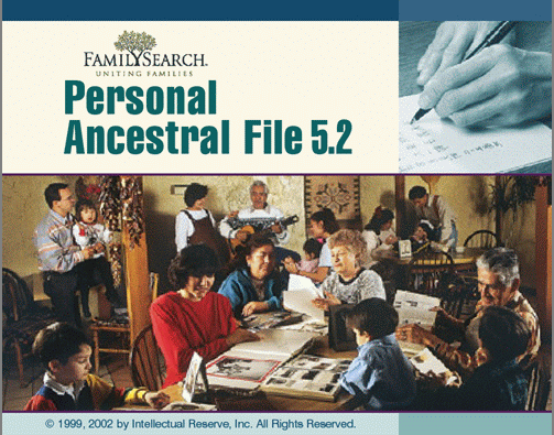 Personal Ancestral File (PAF) 5.2.18.0 (1/6)