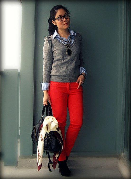 Pantalones Rojos (3/6)